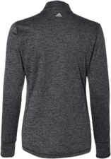 TireHub Brushed Terry Heather Ladies Quarter-Zip Pullover - Assorted Colors