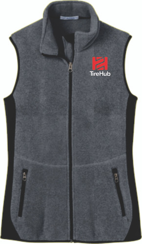 TireHub R-Tek Pro Fleece Full-Zip Ladies Vest