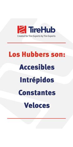 Los Hubbers Son (Cuatro Compromisos) 24x36