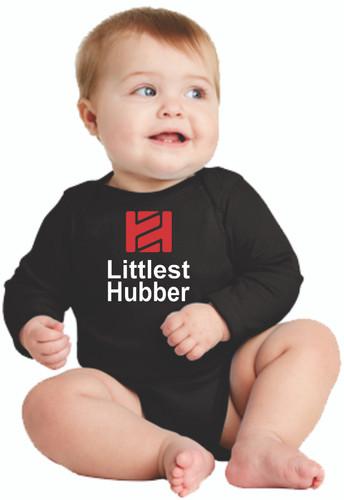 """Tire Hub """"Littlest Hubber"""" Long Sleeve Onzie"""