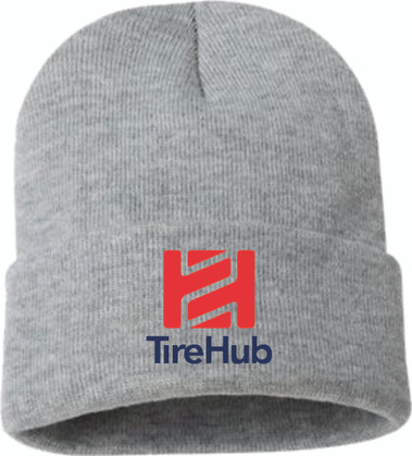 "TireHub 12"" Solid Knit Beanie"