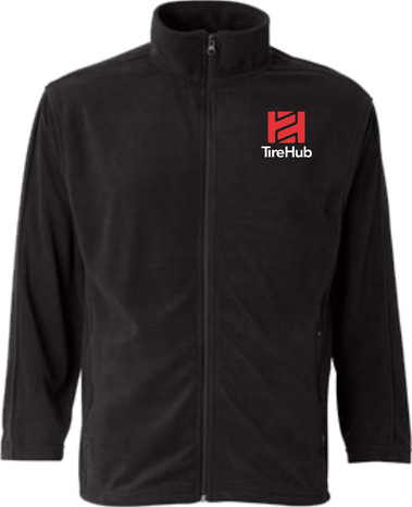 TireHub Microfleece Full-Zip Jacket - Assorted Colors
