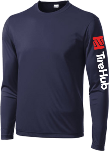 TireHub PosiCharge Competitor Performance Long Sleeve Tee - Assorted Colors