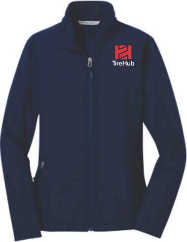 Clearance Core Soft Shell Ladies Jacket - Black