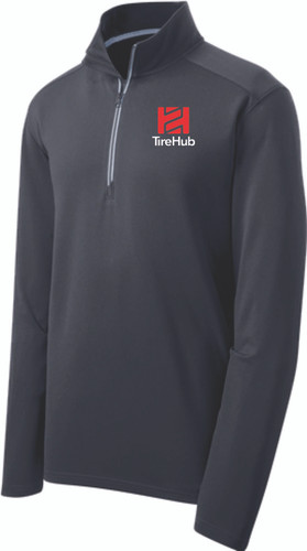 TireHub Sport-Wick Textured 1/4-Zip Pullover - Assorted Colors