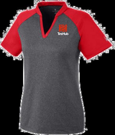 TireHub Ladies Spyder - Peak Polo Shirt