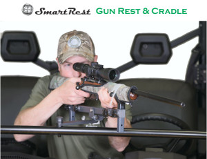 SmartRest - Gun Rest & Cradle - UTV Front Facing Rest