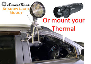 SmartRest - Shadow Light Mount - Thermal Car Mount