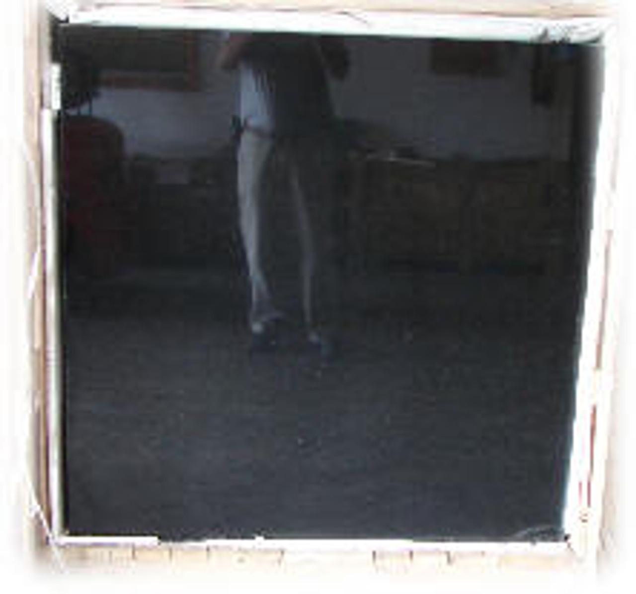 Laser Slab Super Black Granite Mural Blank, G-SB-2'x4'