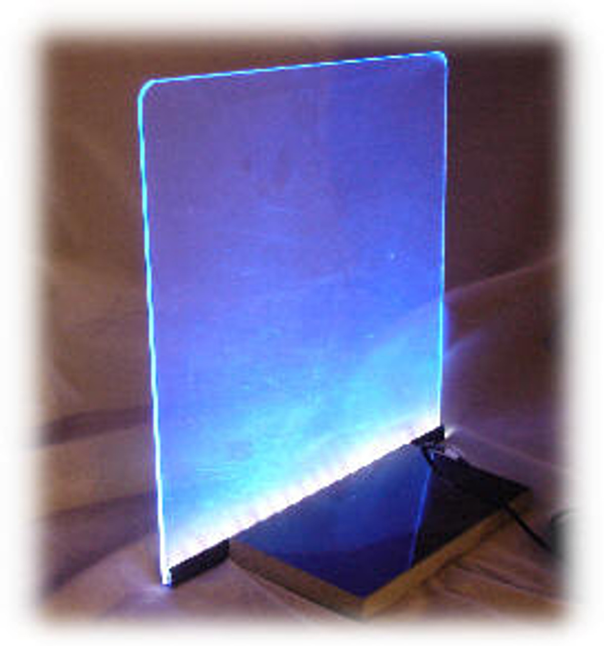 "SSK-18: 18"" Wide x 12"" x 1/8"" Starter Sign Kit, with 18"" LED Light Strip"