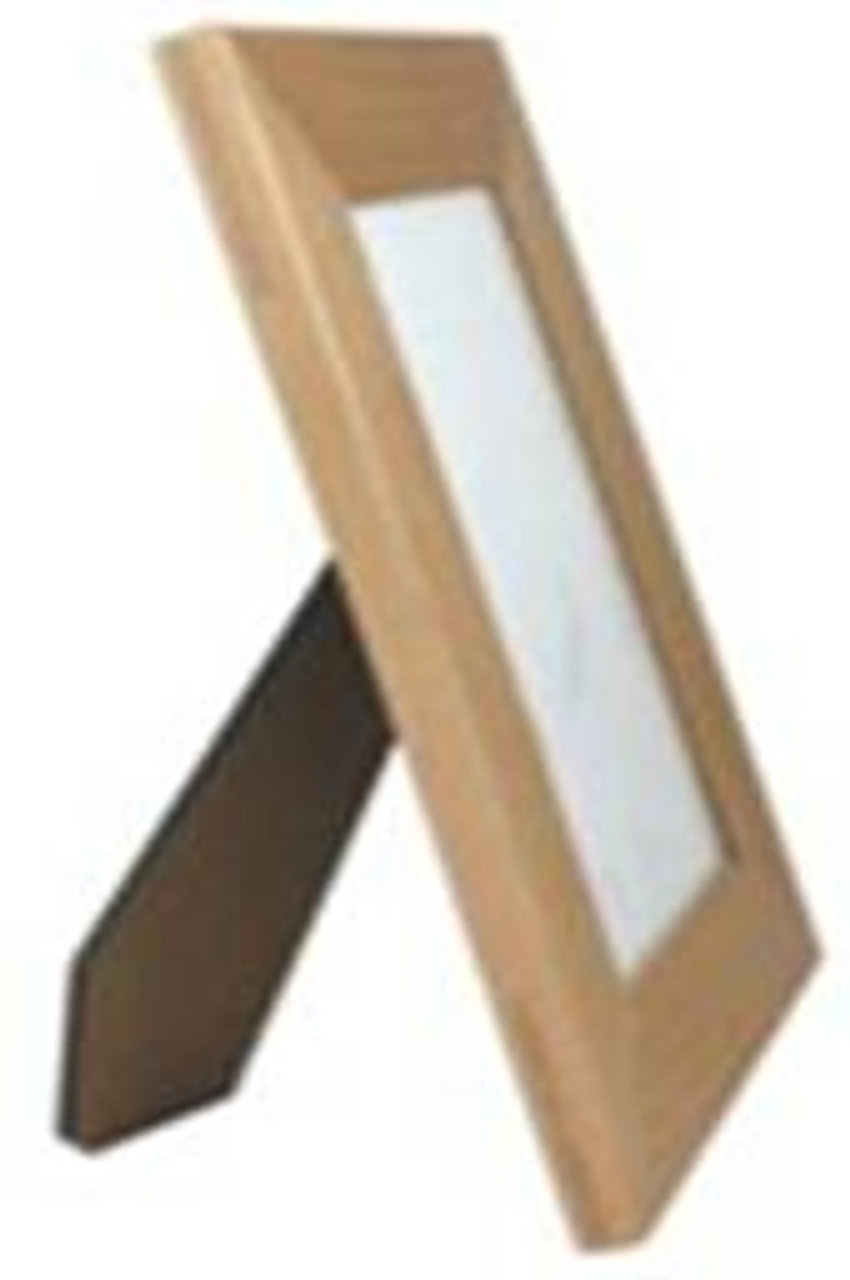"""AWF 0355:  Alter Wood Plaque Frame for 3.5"""" x 5""""  Picture. Over all size 6"""" x 7.5"""""""