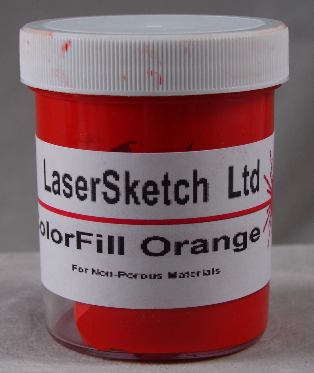 LaserGrade Orange, ColorFill, 4 ounces