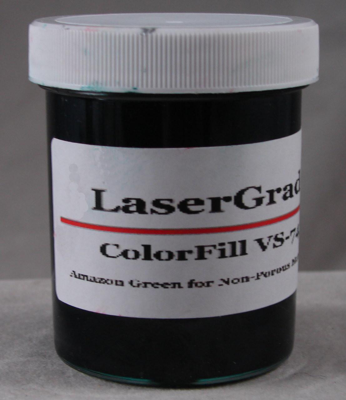 LaserGrade Amazon Green, ColorFill, 4 ounces