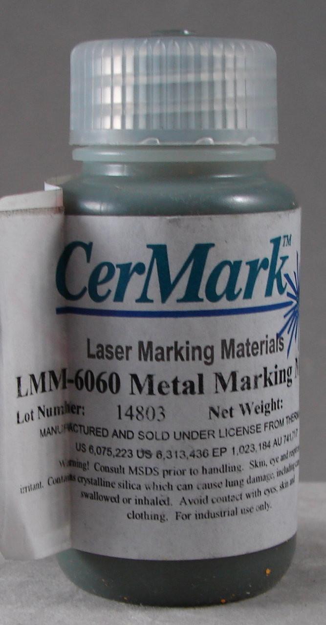 CerMark LMM6060.50: Black,  50 gram (paste), liquid for Metal Marking, Water Based Solvent,  #95.0267
