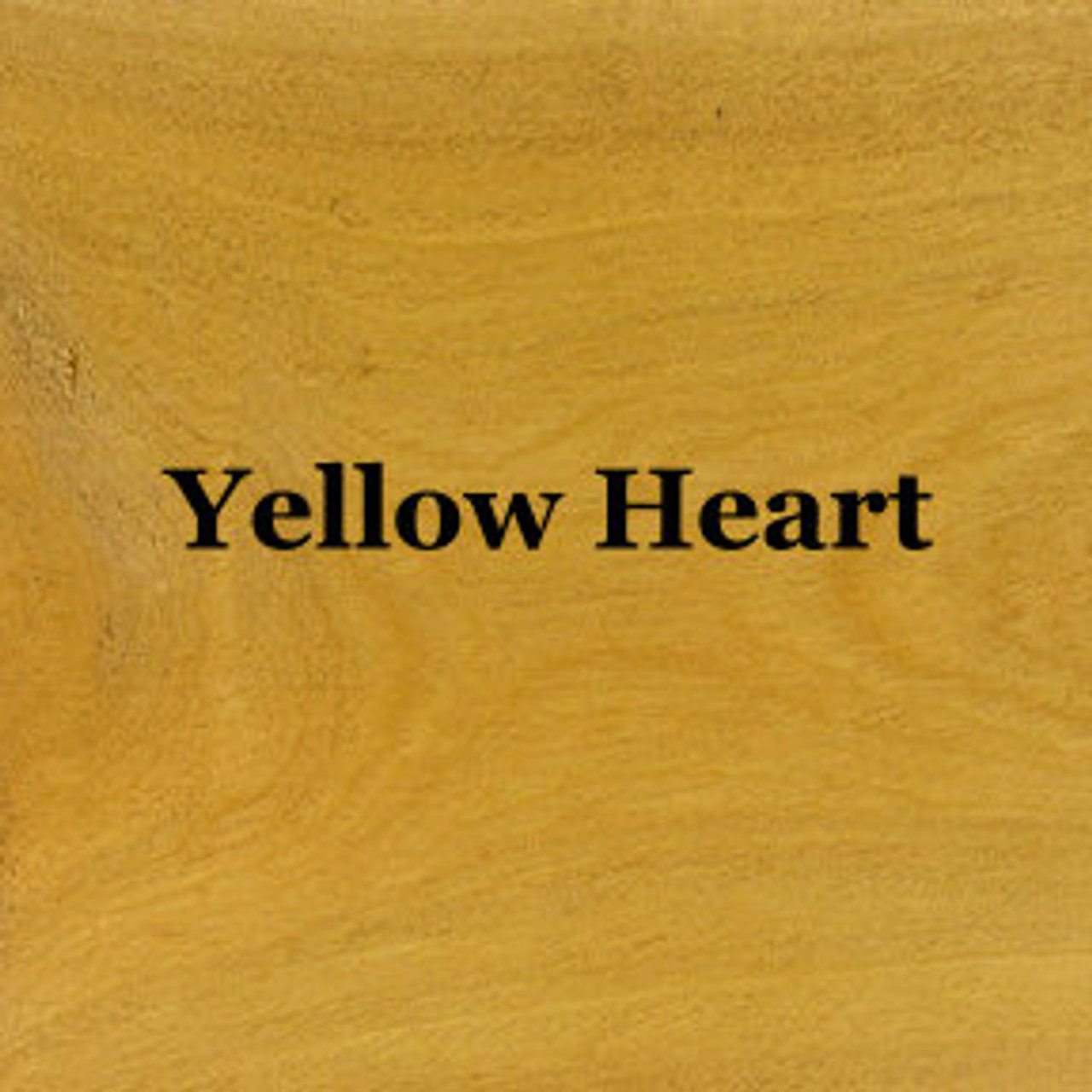 "2 - Sq.Ft. of 1/8"" Yellow Heart"