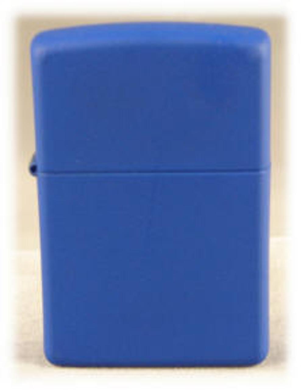 Zippo Lighter, Blue Matte
