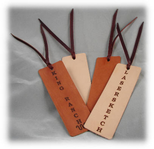 Natural Leather Book Marker