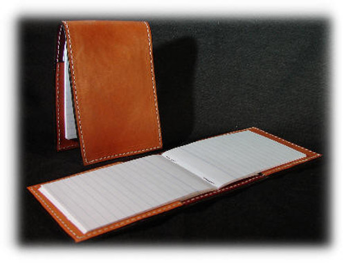 Rich Tand Leather Tally Book