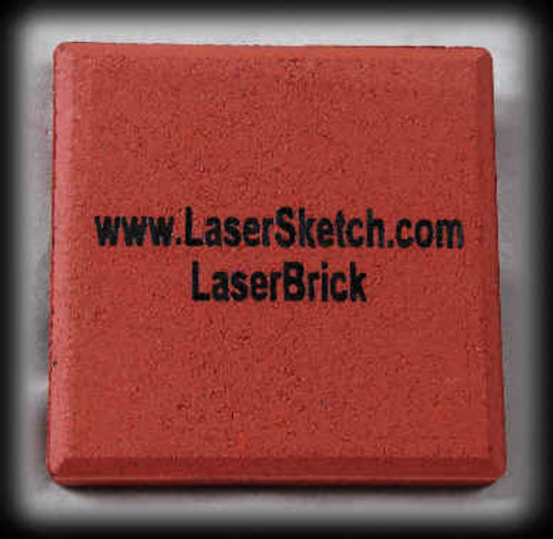 "LaserBrick, 3"" x 3"" x 1/2"""