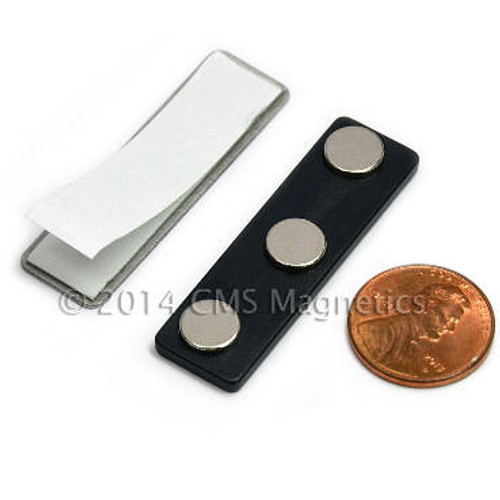 Made of Neodymium Magnets,  Magnets with adhesive to attach to Mini LaserBrick Thins.
