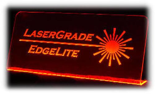 "SSK-6: 6"" Wide x 12"" x 1/8"" Starter Sign Kit, with 6"" LED Light Strip"