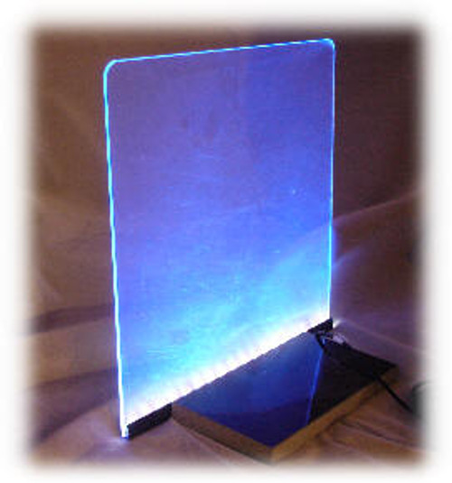 "SSK-12: 12"" Wide x 12"" x 1/8"" Starter Sign Kit, with 12"" LED Light Strip"