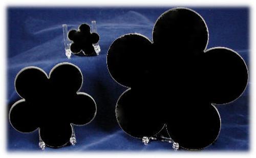 LaserGrade Black Granite  Daisies - G-Daisies-2x2