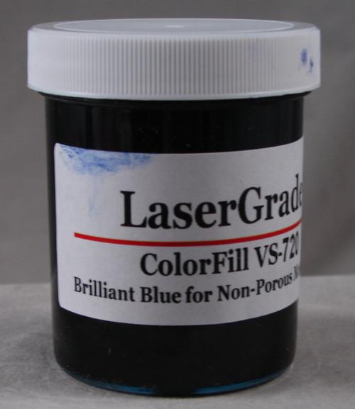 LaserGrade Brilliant Blue, ColorFill, 4 ounces
