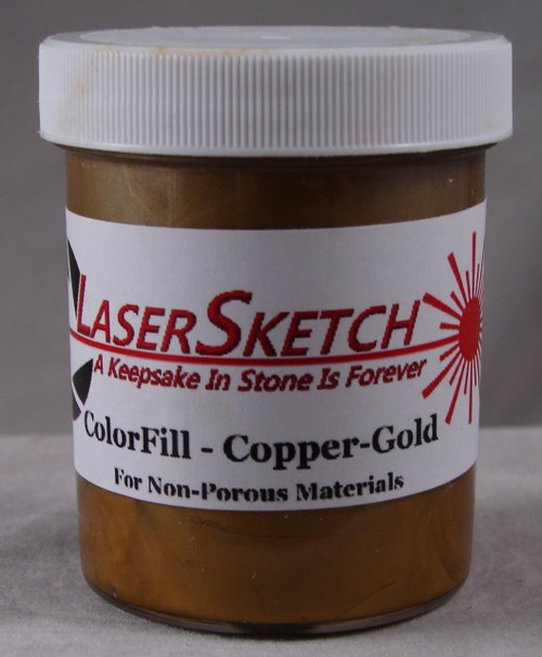 LaserGrade Copper Gold, ColorFill, 4 ounces