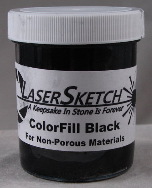 LaserGrade  Absolute Black, ColorFill, 4 ounces