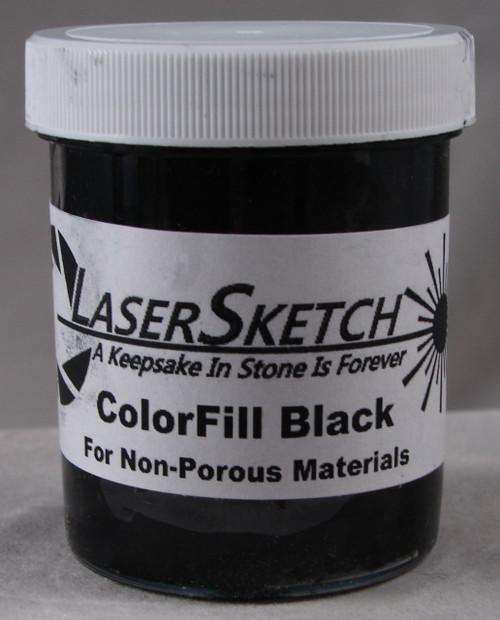 LaserGrade  Absolute Black, ColorFill, 4 ounces