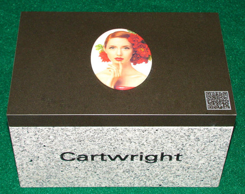 """LaserGrade MB Black Granite Base Dimensions, 16"""" long x 8"""" wide x 6"""" tall with cut out 5"""" deep, ~1"""" walls. Top Cove, LaserGrade MB Black Granite,  16"""" x 8"""" x 1"""": Holds a live weight of 400 pounds"""