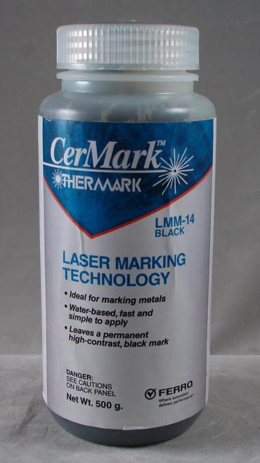 LMM14.500: Black, 500 gram (paste) liquid for Metal Marking