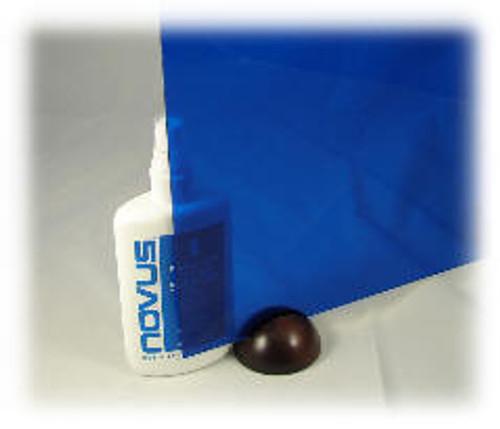 "2424: Translucent Blue, Acrylic Sheet, 24"" x 18"" x ~1/8"""