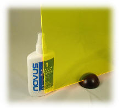 "L-043: Fluor Yellow, Acrylic Sheet, 24"" x 18"" x ~1/8"""