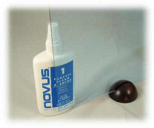 "L-089: Fluor Blue, Acrylic Sheet, 24"" x 18"" x ~1/8"""