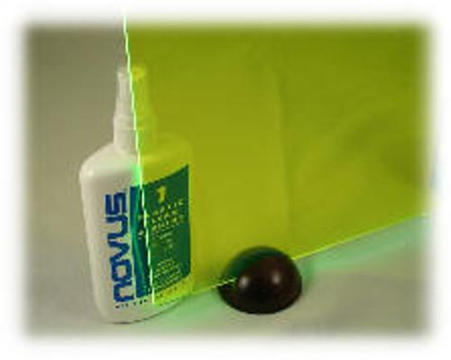 "L-111: Fluor Green, Acrylic Sheet, 24"" x 18"" x ~1/8"""