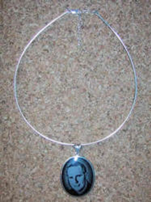 "124SS: Sterling Silver Round Omega Necklaces, Expandable to 20"" Over all length,."