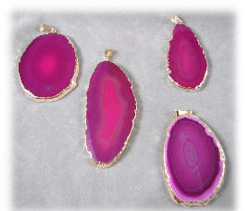 4-Pink Agate Pendant Package
