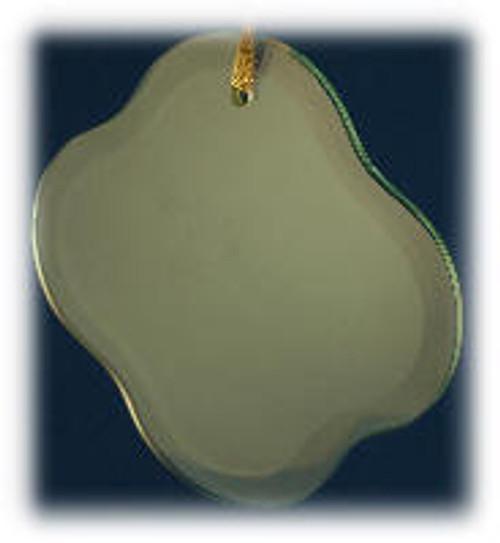 Clover Shape Ornament with Velvet Bag