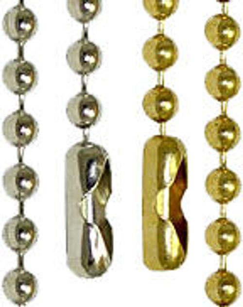 """10 - 24"""" Brass Chain"""