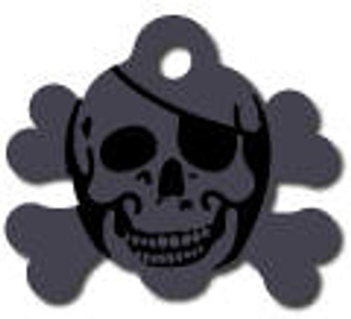 10 - Black Skull Crossbones