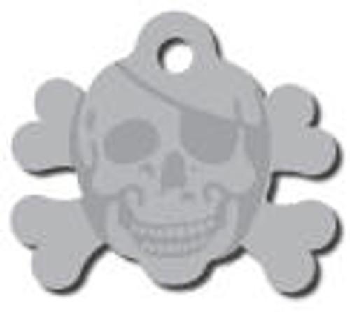 10 - Silver Skull Crossbones