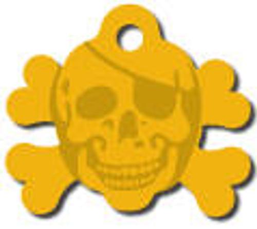 10 - Gold Skull Crossbones