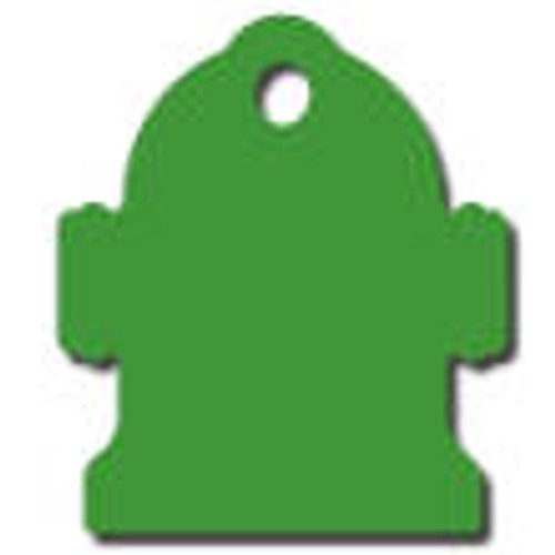 Green Hydrant Tag