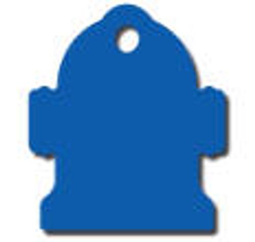 Blue Hydrant Tag