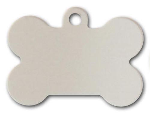 Silver Dog BoneTag