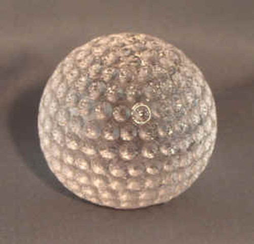 Crystal Tennis Ball Paperweight
