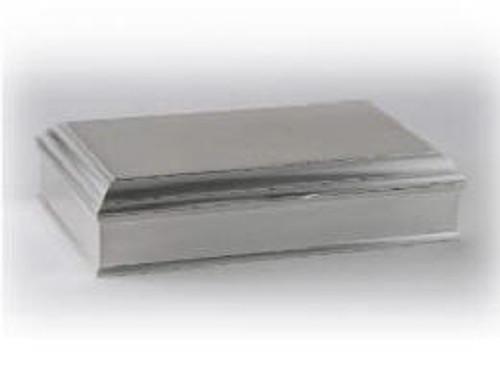 Madison Brushed Cast Aluminum Box