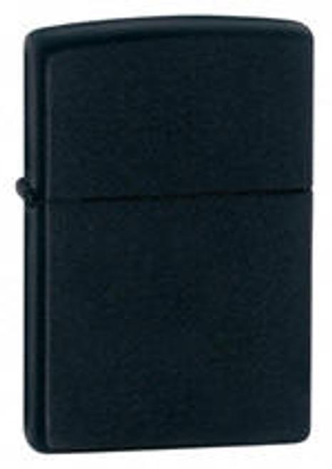 Zippo Lighter, Black Matte